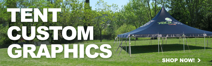 1 & Custom Tents and Canopy Graphics - Free Quote u0026 Rendering